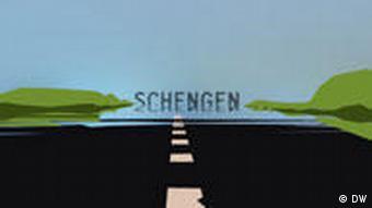 Schengen Symbolbild Schengenabkommen EU Europa Grenzen
