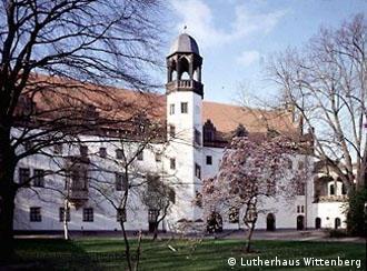 Ex-mosteiro de Wittenberg, onde Martinho Lutero residiu a partir de 1524