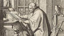 Luther übersetzt die Bibel