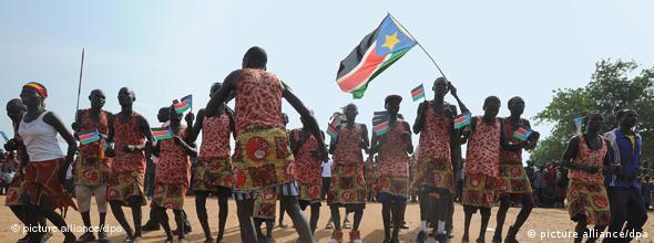 NO FLASH Sudan Südsudan Unabhängigkeit Referendum Flagge Fahne Flash-Galerie