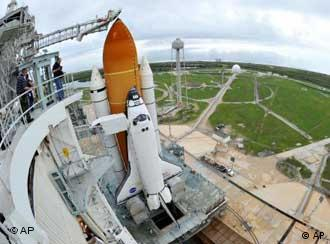 Space Shuttle Atlantis (Foto: AP)