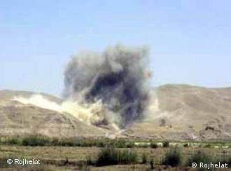 توپخانه ایران بارها کردستان عراق را هذف قرار داده است