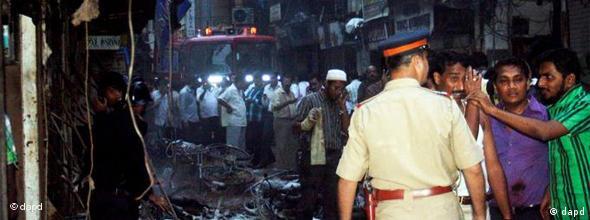 NO FLASH Indien Mumbai Terroranschlag