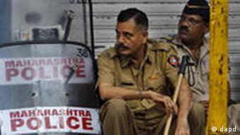 Indien Mumbai Explosionen Sicherheit Juli 2011