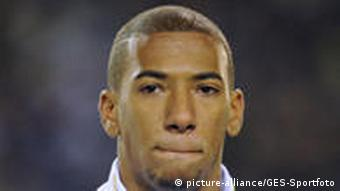 Portrait of Jerome Boateng in a friendly against Sweden