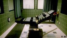 Todesstarfe USA Hinrichtungsraum Todeszelle Injektionsraum