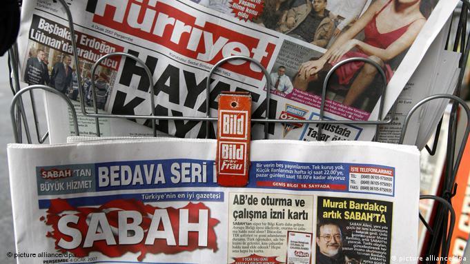 Türkische Zeitungen Flash-Galerie