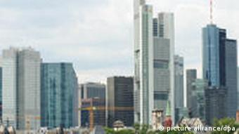 Skyline in Frankfurt am Main (Foto: dpa)