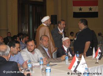 کنفرانس اپوزیسیون سوریه در استانبول