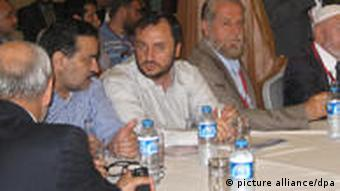 Syrian opposition members meeting in Istanbul