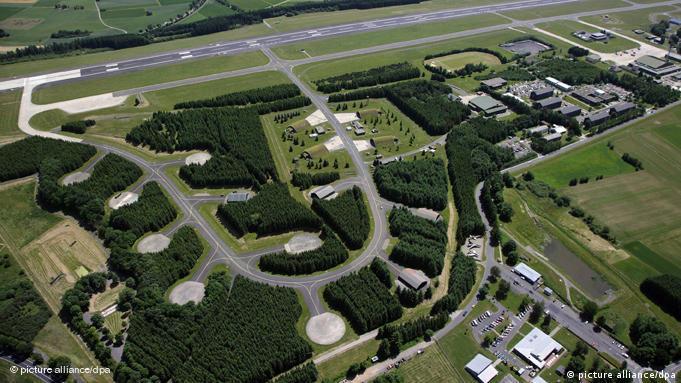 Fliegerhorst Büchel Atomwaffenstationierung USA Eifel Flash-Galerie