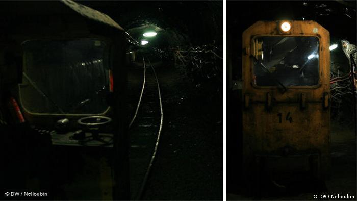 Рудник Раммельсберг (Rammelsberg) под городом Гослар (Goslar). Фото: DW / Максим Нелюбин