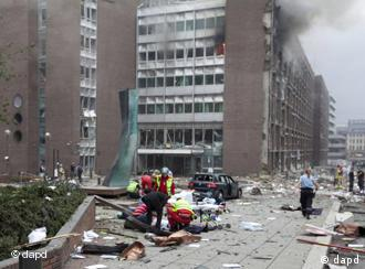 Уништена зграда во центарот на Осло