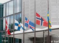 Μεσίστειες η σημαίες. Η Νρβηγία πενθεί