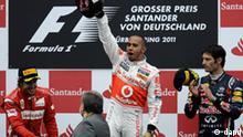 Formel 1 GP Deutschland Nürburgring Die Sieger