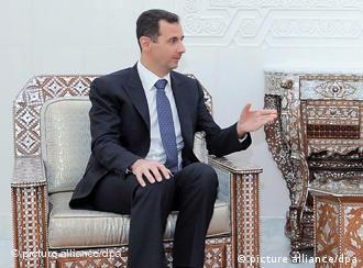 بشار اسد، رئيسجمهوری سوریه زیر فشار فزایندهی جنبش اعتراضی مردم