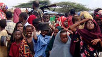 Flüchtlinge aus Somalia (Foto: AP)