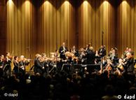 A Israel Chamber Orchestra durante a apresentação