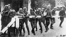 1939 Überfall auf Polen Wehrmacht Schlagbaum Flash-Galerie