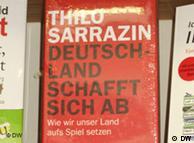 Thilo Sarrazin's book 'Deutschland schafft sich ab'