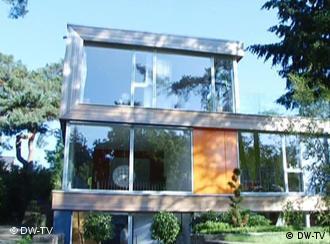 euromaxx ambiente haus aus holz und glas in berlin. Black Bedroom Furniture Sets. Home Design Ideas