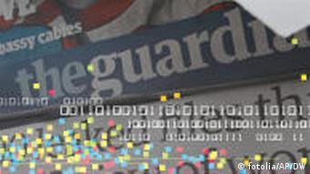 Symbolbild Guardian newspapers data journalism