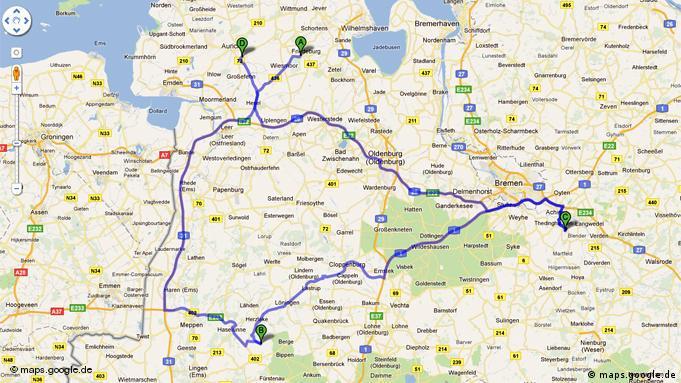 ''Немецкие'' России: Rußland, 26446 Friedeburg - Rußland, 49626 Berge - Rußland, 27321 Thedinghausen - Rußland, 26695 Aurich.