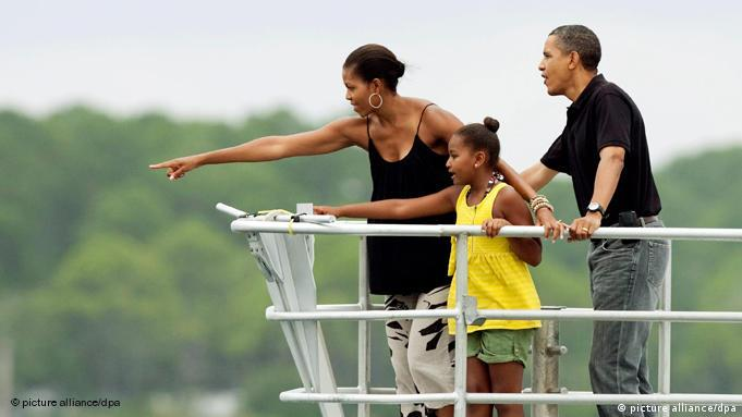 Barack Obama Familie Michelle Obama Urlaub Flash-Galerie