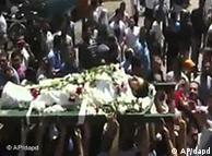 Jedna od sahrana u Hami, uporištu opozicije