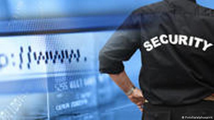 Symbolbild Internet Hacker Sicherheit Computer www (Fotolia/alphaspirit)