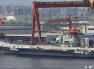 نخستین ناوهواپیمابر چین