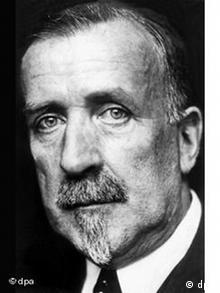 Der deutsche Schriftsteller Heinrich Mann