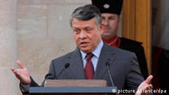 Jordaniens König Abdullah (Foto: EPA)