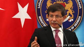 Türkei Außenminister Ahmet Davutoglu Tiflis Georgien