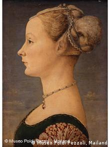 Portrait of a lady (ca. 1465-70) by Antonio del Pollaiuolo