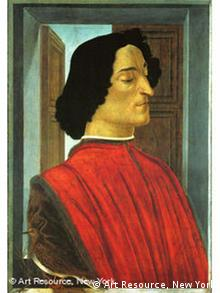 Portrait of Giuliano de'Medici (1478) by Sandro Botticelli