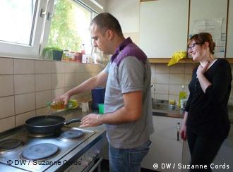 住宿学生共用厨房