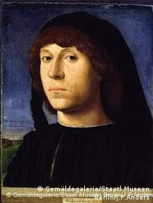 Portrait of a young man (1478) by Antonello da Messina