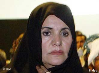 Gadhafi's wife