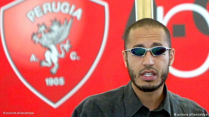 Saadi Kadhafi menjadi pemain klub AC Perugia sebelum gagal dalam tes narkoba