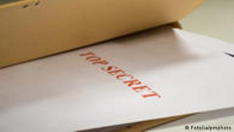 Papir koji upozorava kako je to tajni dokument