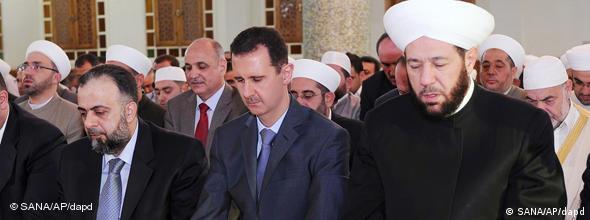 NO FLASH Syrien Assad Gebet Eid al-Fitr Ramadan