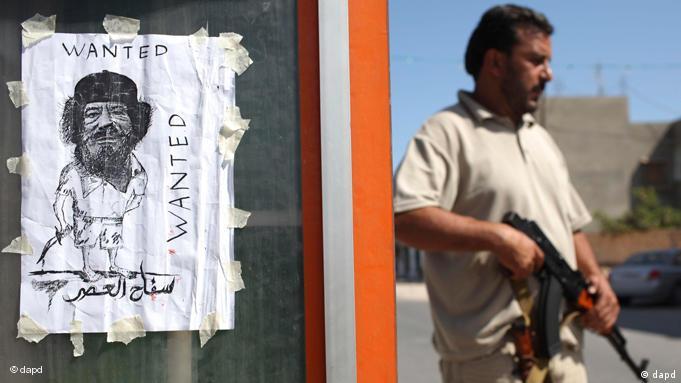 Libyen Gaddafi Flucht Algerien Rebellen 30.08.2011 Flash-Galerie