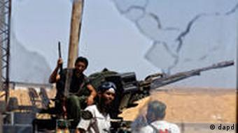 Libyen Gaddafi Flucht Algerien Rebellen 30.08.2011