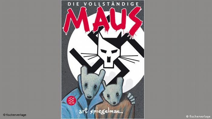 Cover of Maus the graphic novel
