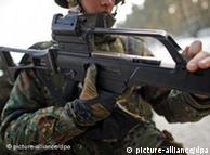 Fusiles de asalto G-36, de la firma Heckler & Koch, aparecieron en Libia.