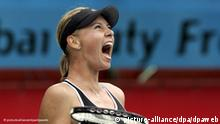 WTA-Turnier in Dubai - Maria Scharapowa FLASH-GALERIE