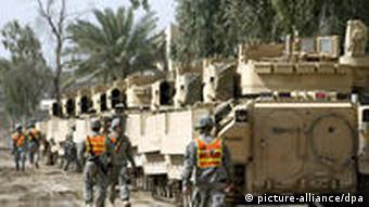 US-Soldaten im Irak bereiten Heimreise vor