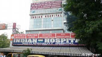 Indian Hospital in New Delhi