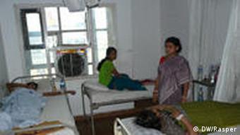 Sangeeta, a patient at hospital